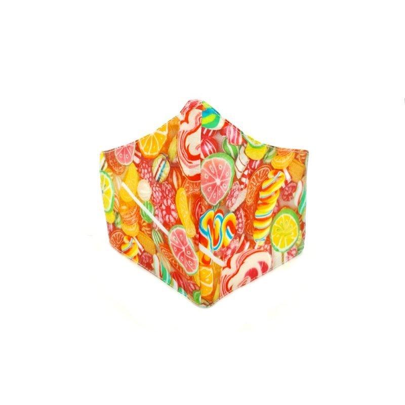 mascarilla caramelos reutilizable